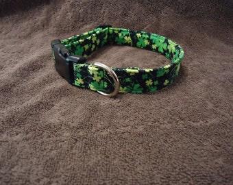 Dog Collar Shamrock Dog Collar