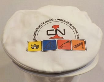 CN CNR Railway Railroad Engineering Trains Snapback News Boy Cabbies Golfers Dad Hat Cap