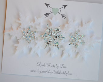 Snowflake Crown - Winter Snowflake Headband