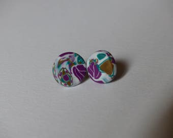 Earring round spring