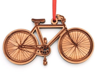 bicycle christmas ornament van cleve bicycle ornament for christmas tree biker or biking enthusiast - Bicycle Christmas Ornament