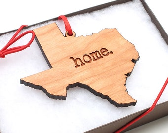 Home State Ornament - State Pride, Pick your State home. Christmas Ornament - What's Your State?