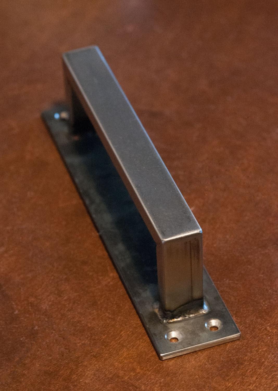 1 2 X 1 Rectangle Steel Sliding Barn Door Handle On Low