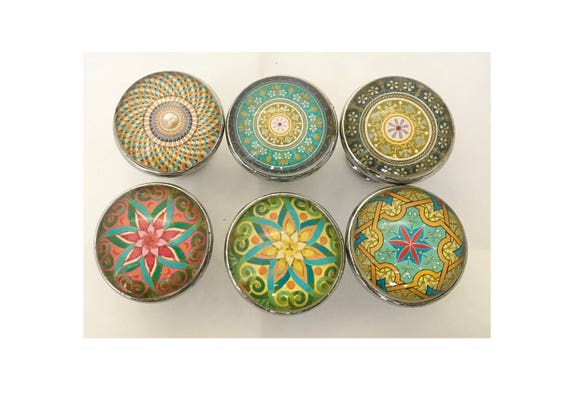 Moroccan Ornate Decorative Drawer Knobs For Cabinets, Dressers, Doors,  Furniture   6 Pack From ShabbyRestore On Etsy Studio