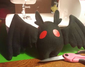 "SALE Custom ""Mini Mothmen"" Cryptid Plush"