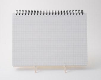 """Mnemosyne #182 spiral graph paper notebook (6.25"""" x 8.25"""")"""