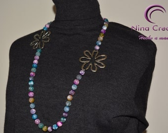 Multicolores Agate Necklace