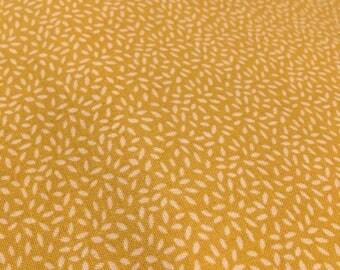 Sew Simple Lillie Mustard SSFLILLIE311- Cotton Fabric