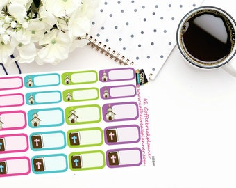 Planner Stickers| Church Stickers| Church Appointment Sticker| S003-HV