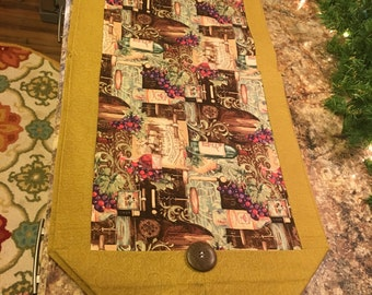 Table Runner- Wine