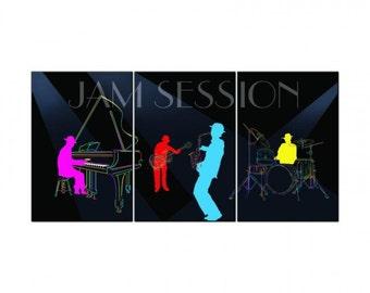 Jam Session Triptych