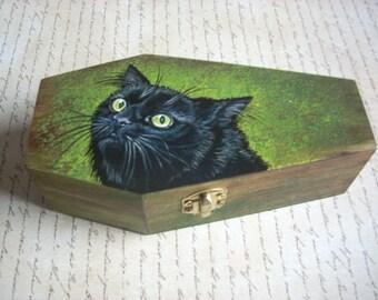 Coffin Box-Black Cat