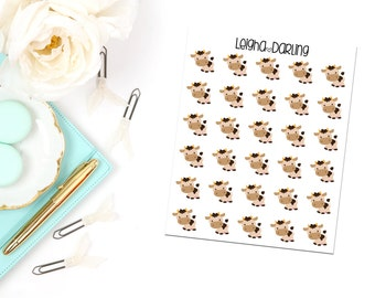 Cow Planner Stickers