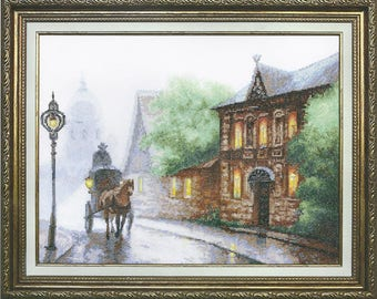 Counted Cross Stitch Kit Carriage