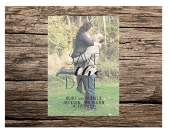 Save The Date Couples Photo Printable