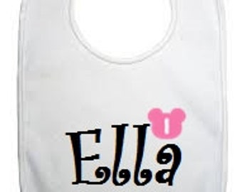 Add A Custom Birthday Bib To My Order - Made To Match - Customize - Cake Smash