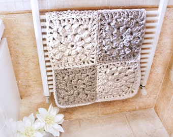 Crochet Rug Pattern, Chunky Floor Rug, Crochet Pattern, Super Bulky Rug, Rug Tutorial, XXL Crochet, Bedroom Rug, Hygge Decor, Wedding Gift