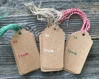Gift Tags, Birthday Gift Tags, Tags, Gift Wrap, Holiday Gift Tags, Rustic Tags, Gift Wrap Tags, Kraft Paper Tags, Christmas Tags