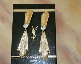 Yves Saint Laurent earrings (reserved)