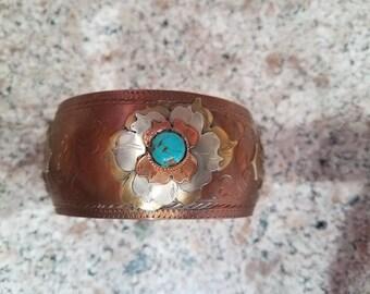 Custom handmade copper bracelet