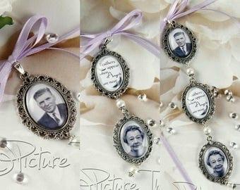 Custom Bouquet charm, Wedding Bouquet charm, Personalised bouquet charm, Double bouquet charm, Triple Bouquet Charm, Memorial Photo Charm.
