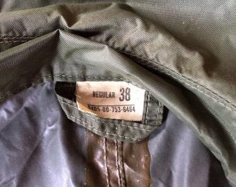 Army raincoat