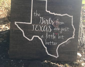 The girls from Texas