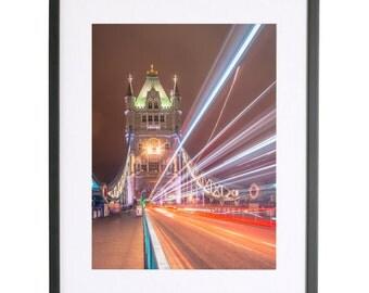 The Heights x Michael Wilson Tower Bridge Print