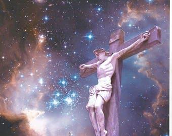 JESUS RISING in POWER - Original Art Copyright 2017 By Paul H Fresco