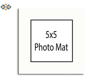 5x5 Frame Black Etsy