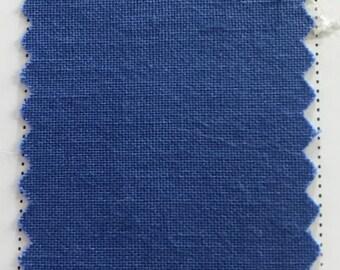 Cornflower Quilter's Homespun 100% Cotton Fabric 1/2m lengths