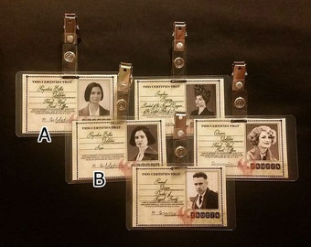 MACUSA ID Badges from Fantastic Beasts and Where to Find Them