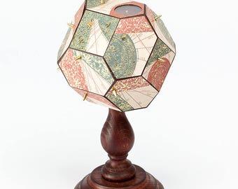 Polyhedral Sundial - Renaissance Italian Astronomical Solar Time Medieval Fantasy