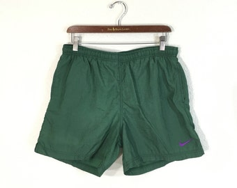 90's nike nylon shorts swim trunks size XL