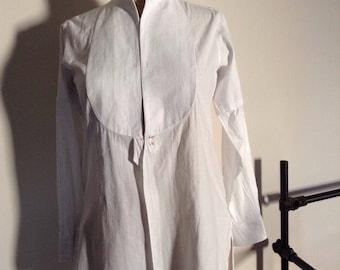 Former Dickey XIX XX blouse officer cotton shirt