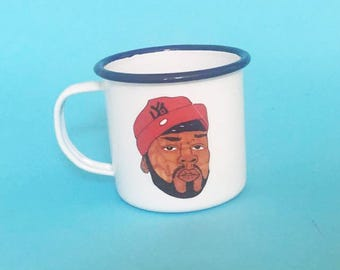 50 Cent Enamel 8cm Illustrated Mug