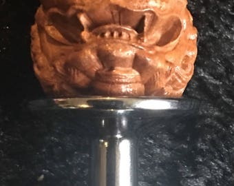 Foo dog butt plug, guard the rear of your kingdom with this small stainless steel toy - Shi Mature
