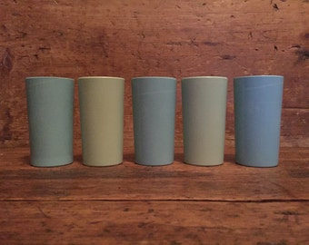 Set of 5 Small Drinking Melamine Cups Lournay by Melmac