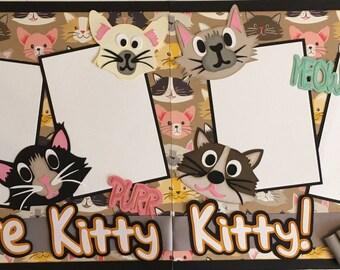 Here Kitty Kitty Layout Kit