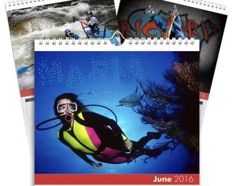 Xtreme Sports A3 Calendar