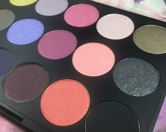 15 color eye shadow palette