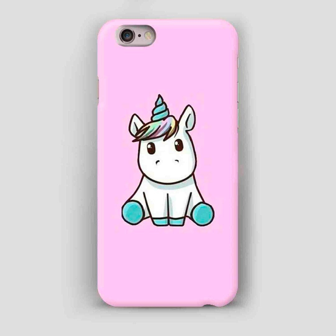 D Unicorn Iphone Case