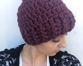 Bun Beanie/ Messy Bun Beanie/ Pony Tail Hat/ Messy Bun Hat/ Hat with Hair hole