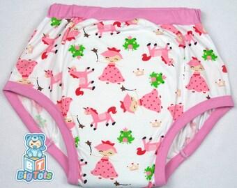 Adult Baby Princesses & Unicorns  training pants ABDL