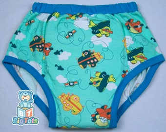 Adult Baby Airplanes Teddy training pants ABDL