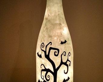 Halloween lighted bottle/Halloween night light