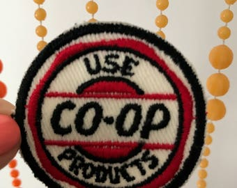 Vintage Oil Company Patch Use CO-OP Products