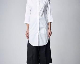 Kimono Dress, White Shirt Dress, Japanese Clothing, Short White Dress, White Minimalist, White Tunic, Loose Dress, Oversized Tunic