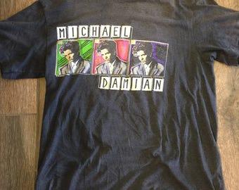 1989 Michael Damian XL concert tshirt Rock On