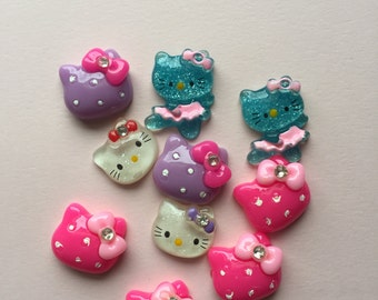 Assorted Hello Kitty resins